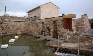 Restauracion del Molino y Norial de Velilla de Ebro Zaragoza